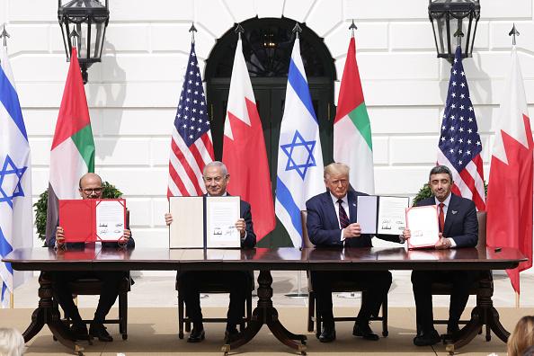 United Arab Emirates「President Trump Hosts Abraham Accords Signing Ceremony On White House South Lawn」:写真・画像(15)[壁紙.com]