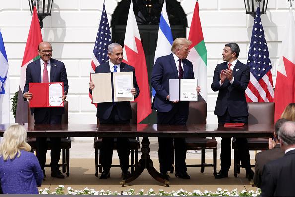 United Arab Emirates「President Trump Hosts Abraham Accords Signing Ceremony On White House South Lawn」:写真・画像(9)[壁紙.com]