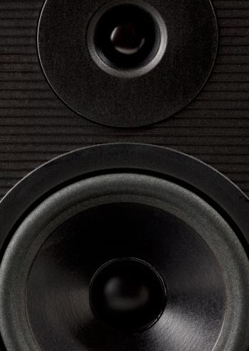 Rock Music「Stereo speaker close up」:スマホ壁紙(11)