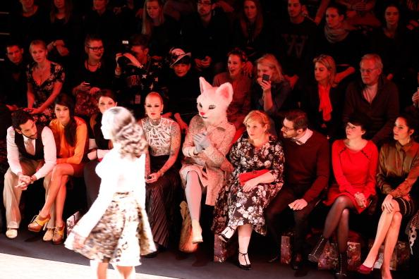 Guest「Lena Hoschek Arrivals - Mercedes-Benz Fashion Week Autumn/Winter 2014/15」:写真・画像(16)[壁紙.com]