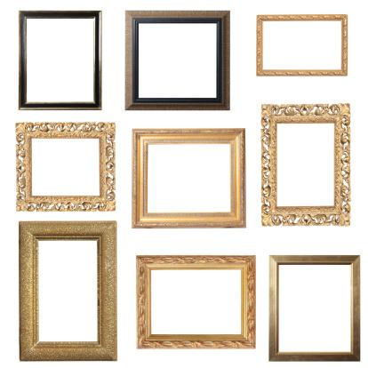Antique「Assorted Gold Frames」:スマホ壁紙(9)