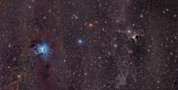 Supernova「A blue reflection nebula called the Iris Nebula glows in the constellation Cepheus.」:スマホ壁紙(18)