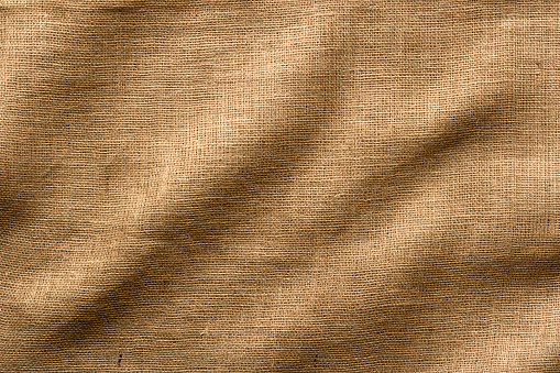Intricacy「Burlap Fabric with Wrinkles, Wide Shot. Full Frame.」:スマホ壁紙(2)