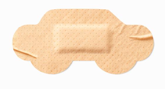 Crash「Car-shaped sticking-plaster」:スマホ壁紙(18)