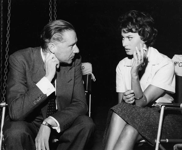 Director「Sir Carol Reed And Sophia Loren」:写真・画像(9)[壁紙.com]