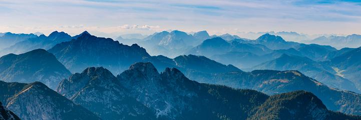 Mountain Peak「Blue Ridge Mountain」:スマホ壁紙(3)