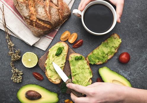 Avocado「Healthy green veggie avocado sandwich」:スマホ壁紙(14)