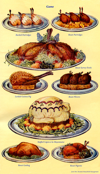 Condiment「Mrs Beeton s cookery book  - game dishes」:写真・画像(12)[壁紙.com]