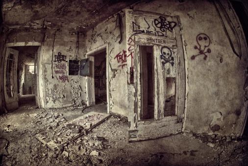 Teenager「Old dark ruin」:スマホ壁紙(6)