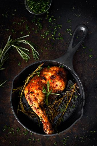 Turkey - Bird「Chicken leg in a skillet」:スマホ壁紙(17)