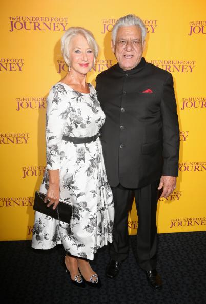 "Flared Dress「""The Hundred Foot Journey"" - UK Gala Screening - Red Carpet Arrivals」:写真・画像(1)[壁紙.com]"