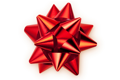 Christmas Decoration「Red bow」:スマホ壁紙(15)