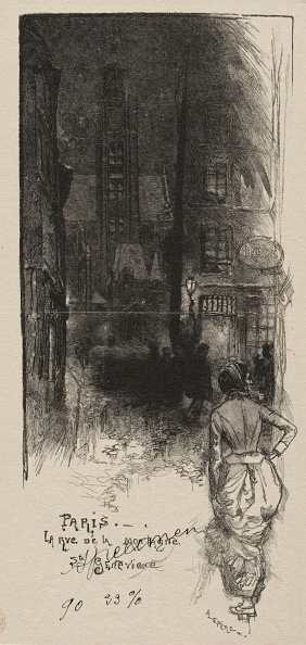 1900「Rue De La Montagne」:写真・画像(6)[壁紙.com]