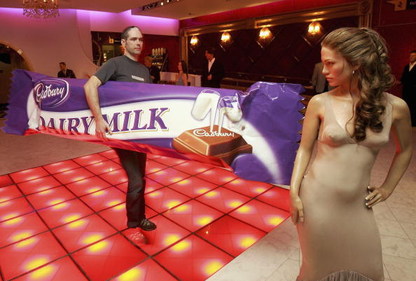 Milk Chocolate「Cadbury Dairy Milk At Madame Tussauds - Photocall」:写真・画像(5)[壁紙.com]