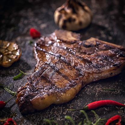 Porterhouse Steak「Roasted BBQ T-Bone Steak」:スマホ壁紙(15)