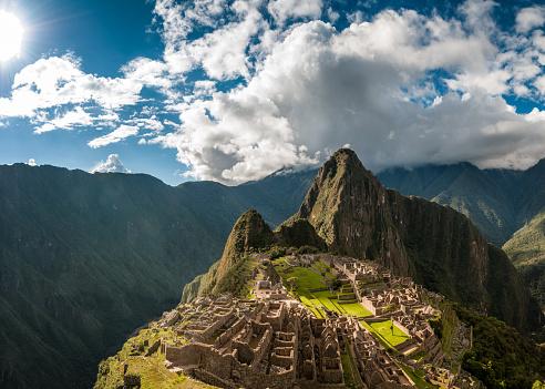 South America「Machu Picchu In Peru」:スマホ壁紙(2)