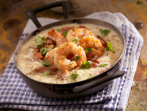 Southern Food「Shrimp and Grits」:スマホ壁紙(5)