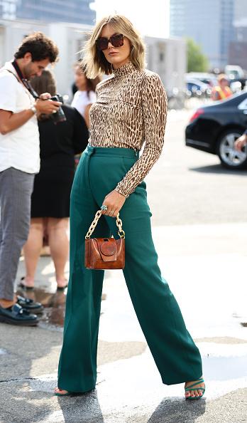 Leopard Print「Street Style - New York Fashion Week September 2019 - Day 7」:写真・画像(1)[壁紙.com]