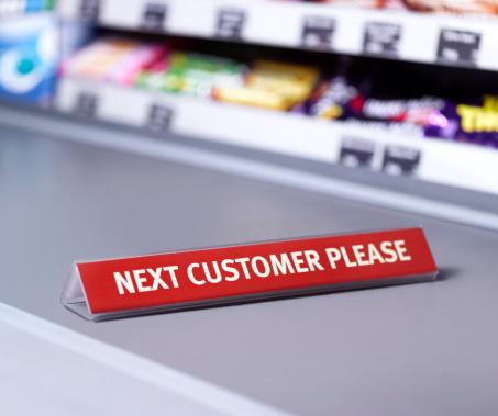 Retail「Next customer please sign on checkout」:スマホ壁紙(13)