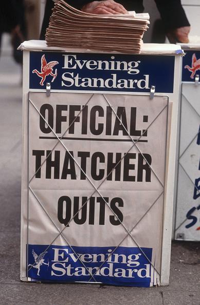 Evening Standard「UK: 25th Anniversary Of Margaret Thatcher Becoming Prime Minister」:写真・画像(2)[壁紙.com]