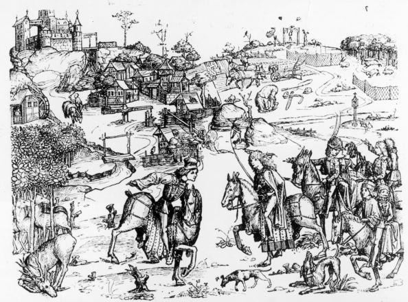 Circa 15th Century「A Medieval Hunt」:写真・画像(8)[壁紙.com]