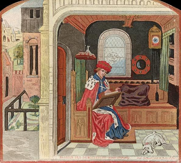 Circa 15th Century「Medieval Scribe」:写真・画像(0)[壁紙.com]