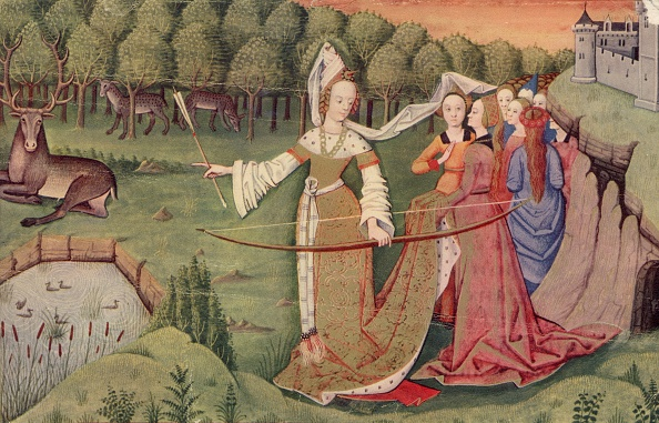 Medieval「Stag Hunting」:写真・画像(0)[壁紙.com]
