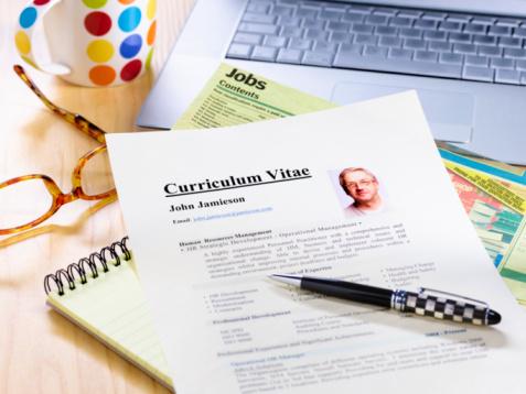 Hope - Concept「Senior job searcher's resume CV.」:スマホ壁紙(5)