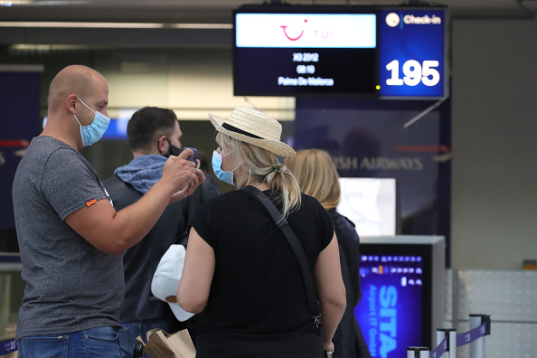 Tourism「First Tourists Depart For Mallorca During The Coronavirus Pandemic」:写真・画像(17)[壁紙.com]