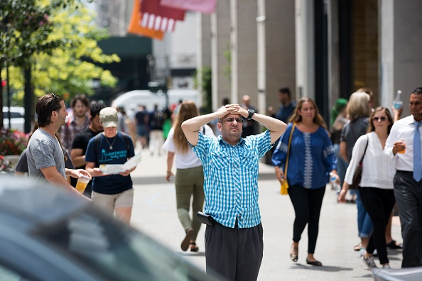 Heat - Temperature「Extreme Heat Envelops New York City」:写真・画像(3)[壁紙.com]