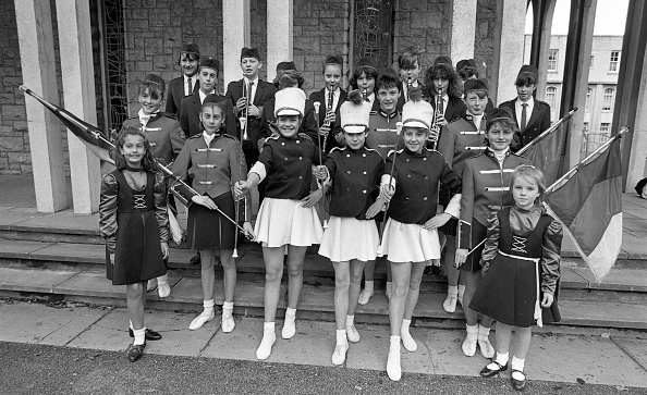 Participant「Tallaght Youth Band Majorettes at the Baton Twirling Association Interprovincial Championships 1987」:写真・画像(6)[壁紙.com]