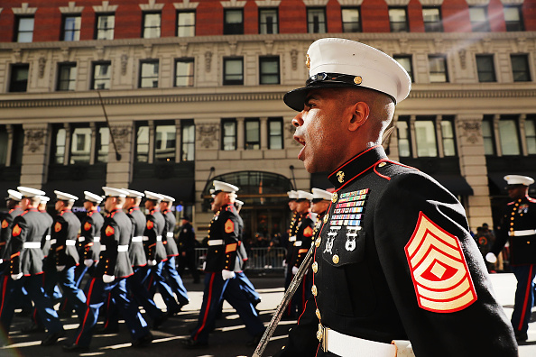Patriotism「New York City Celebrates Veterans Day With Annual Parade」:写真・画像(9)[壁紙.com]