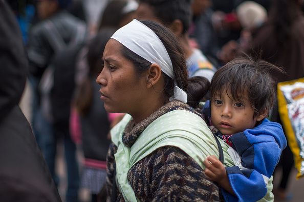 Mexico「Migrants In Caravan That Travelled Through Mexico Attempt To Be Granted Asylum At U.S. Border」:写真・画像(14)[壁紙.com]