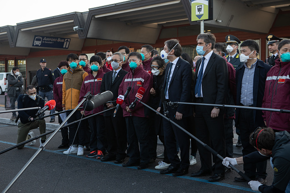 Expertise「Chinese Medical Team Arrives In Milan」:写真・画像(5)[壁紙.com]