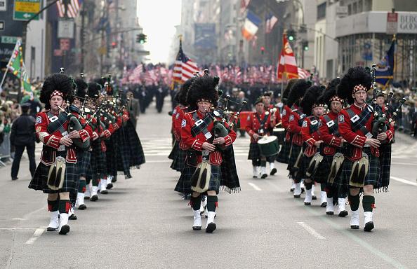 Bagpipe「St. Patrick's Day Parade In New York」:写真・画像(7)[壁紙.com]