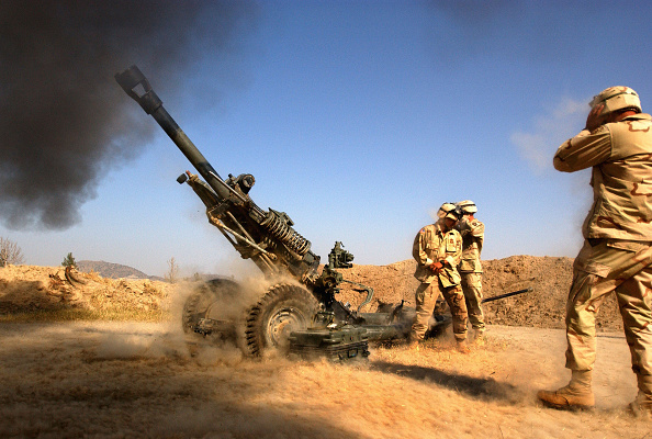 Army Soldier「Artillery Exercise In Afghanistan」:写真・画像(14)[壁紙.com]