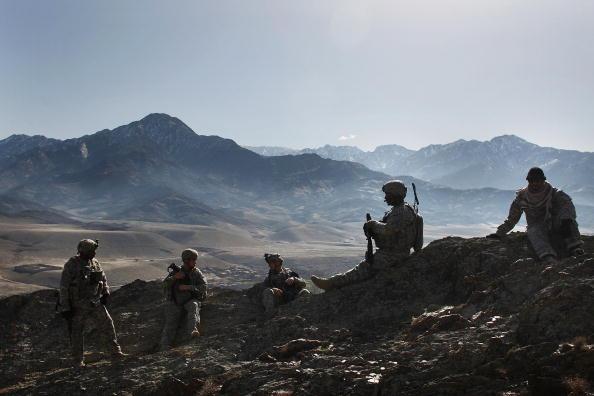 Afghanistan「US Army Patrols In Afghanistan's Restive Nuristan Province」:写真・画像(18)[壁紙.com]