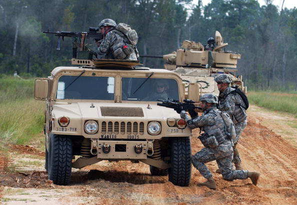 Fort Stewart「Army Division Prepares For Deployment To Iraq」:写真・画像(1)[壁紙.com]