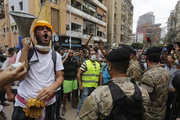 Exploding「Public Anger Grows Over Cause Of Beirut Explosion」:写真・画像(13)[壁紙.com]