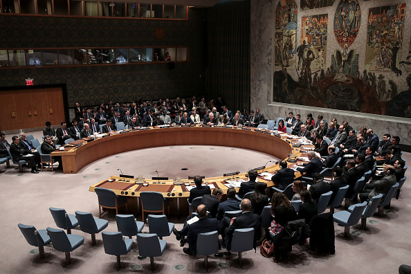 United Nations「United Nations Security Council Meets To Discuss Recent U.S. Airstrikes In Syria」:写真・画像(10)[壁紙.com]