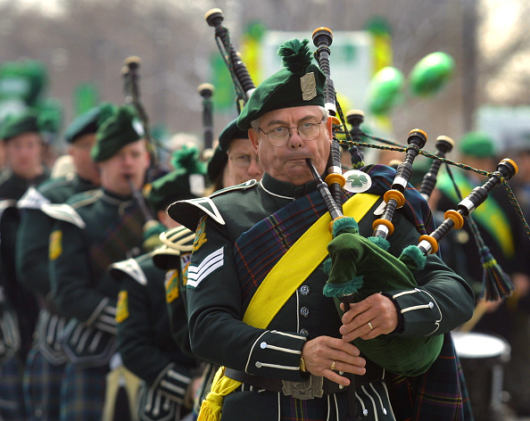 Bagpipe「Chicago's St. Patrick's Day Parade」:写真・画像(6)[壁紙.com]