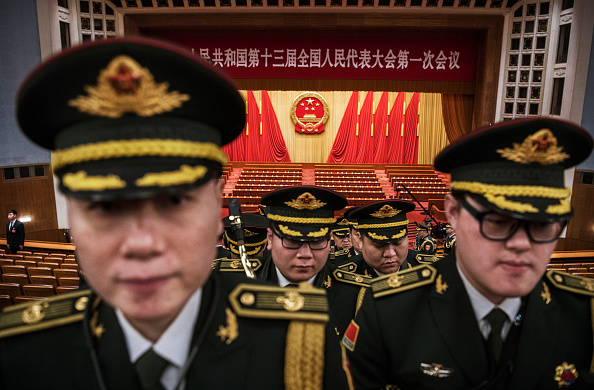 Politics「China's National People's Congress (NPC) - Closing Ceremony」:写真・画像(14)[壁紙.com]