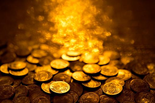 Antique「Gold coins」:スマホ壁紙(13)