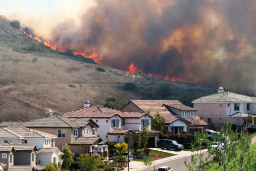 Inferno「Southern California brush fire near houses」:スマホ壁紙(15)