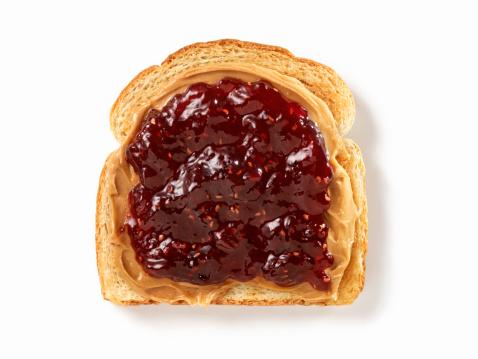 Nut - Food「Peanut Butter and Jam on Toast」:スマホ壁紙(8)