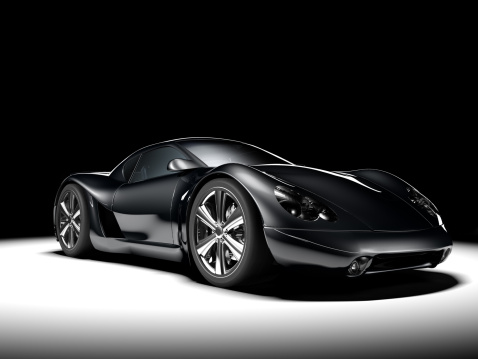 Racecar「Black Sports Car」:スマホ壁紙(11)