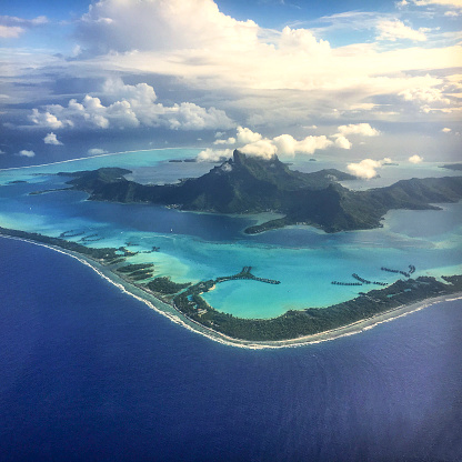 Bungalow「Bora Bora aerial beauty」:スマホ壁紙(3)