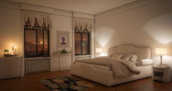 Dusk「Luxurious Master Bedroom」:スマホ壁紙(17)
