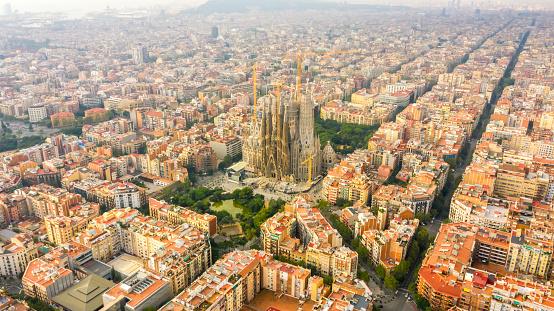 Cathedral「Sagrada Familia Barcelona Spain」:スマホ壁紙(5)