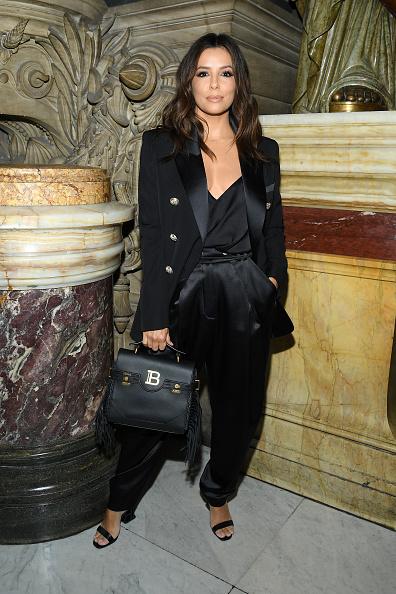 Spring Collection「Balmain : Front Row -  Paris Fashion Week - Womenswear Spring Summer 2020」:写真・画像(8)[壁紙.com]